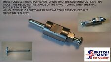M6 Engineers Heavy Duty High Tensile (10.9) Rivnut Insert Tool Setting Nutsert.