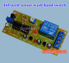 Automatic Infrared Sensor Switch Circuit DIY Kit f Hand Washer Faucet mano dryer