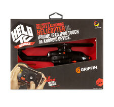 Griffin HELO TC Assault iPhone Android iOS App Touch Controlled RC Helicopter