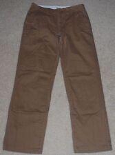 Urban Pipeline Straight Cut Casual Pants Mens 32/34 Brown Tan Khaki Pant 32 W