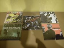 "NEW Green Day lot of 5 x 7"" Vinyl Single UNPLAYED RARE"