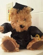 Graduation Bear, Stuffed Bear in Cap and Gown