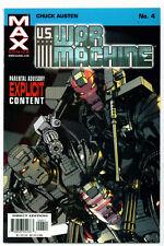 ♥♥♥♥ U.S. WAR MACHINE • Issue 4 • MAX Comics
