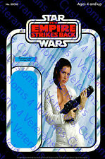 Star Wars Fine Art Nude Leia Custom Cardback