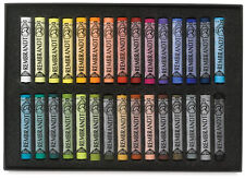 Rembrandt Artists Soft Pastel Set - Full Size Pastels - 30 Colours - General