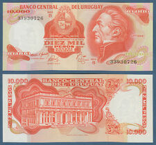 Uruguay 10.000 pesos (1974) UNC P. 53 B