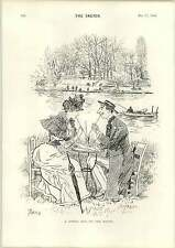 1893 Lovers Spring Idyl On The Marne