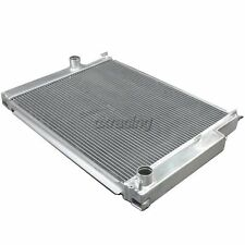 CXRacing Aluminum 2 Rows Radiator For 82-94 BMW E30 Manual Transmission