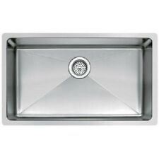 "27"" Small Radius Stainless Steel Laundry/Kitchen Sink"