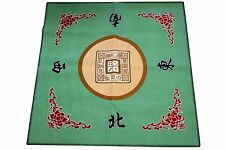 Western Mahjong / Paigow / Card / Game Table Cover Mah jongg Mahjongg Mat Green