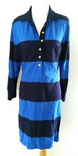 J.CREW BLUE STRIPE RUGBY DRESS SZ XL 14 16