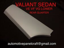 VALIANT VE VF VG VIP LOWER REAR QUARTER RIGHT SIDE RUST REPAIR PANEL