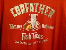 NEW TOMMY BAHAMA TR213946 GODFATHER OFFER YOU CANT REFUSE MENS T-SHIRT L