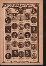 World War I Roll of Honor 1918 Deaths of Heros WWI #52