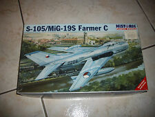 HISTORIC S-105/MIG-19S  FARMER C  PLASTIC MODEL 1/48