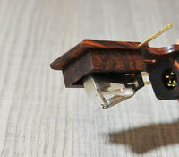 NEW NEW - Wooden Body NAKED STYLE for DENON DL103 DL103R Cartridge MAHOGANI WOOD