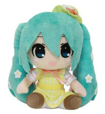 "1x Vocaloid 6"" Taito (459908500) Plush Doll - Hatsune Miku Flower Spring Outfit"