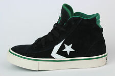 E134 Converse Pro Leather Mid All Star Sneaker trainers Kids Black Size 31 US 13