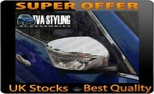 NISSAN X-TRAIL 2014-ON CHROME DOOR WING MIRROR COVERS TRIMS UK SUPPLIER