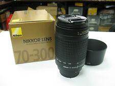 Neuf NIKON AF 70-300mm 70-300 mm f/4-5.6 G Objectif Zoom