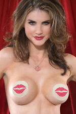 5 x Sets Lips Burlesque Nipple Covers Tassels Pasties Sexy