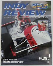 2001 Indy Review IndyCar Series Yearbook Indy 500