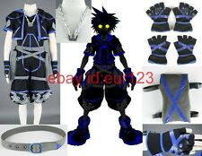 Kingdom Hearts 2 Sora black Cosplay Costume Custom