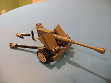 LEGO LOT #20 CUSTOM WW2 WORLD WAR 2 GERMAN DARK GRAY 75 mm PAK 40 CANON SHELL