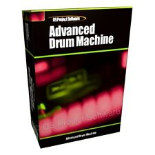 PROFESSIONAL DRUM MACHINE BEAT MUSIC PRODUCTION TOOL AUDIO SOFTWARE