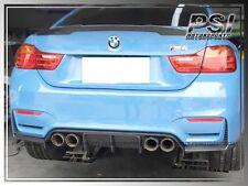 2014+ BMW F80 M3 / F82 M4 V Style (3pcs) Carbon Fiber Rear Bumper Diffuser