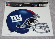 "NEW YORK GIANTS NFL FOOTBALL SPORTS 4.5"" X 5.75"" MULTI-USE DECAL"