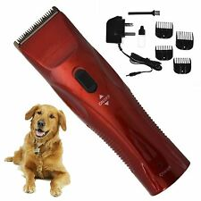 Pet Hair Clippers Trimmer Grooming Kit Dog Cat Easy Animal Long Professional Cut