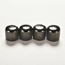 4X IBANEZ VOLUME TONE METAL DOME KNOB SNAP PUSH ON BBM BTB MBM RG GUITAR BASS