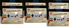6 NEW LOT Dog Bone Style Controllers for Nintendo 8 Bit NES System made by Tomee