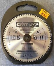 """CMT 225.080.10 10"""" x 80T, TCG Industrial Xtreme Non-Ferrous Saw Blade, BRAND NEW"""