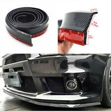 Carbon Fibe Car Front Bumper Lip Splitter Spoiler Skirt Adhesive Protector Pad