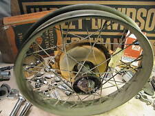 NOS springer 18 wheel WLA military WL 45 knucklehead flathead HARLEY antique