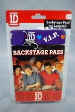 1D ONE DIRECTION Replica Backstage Concert Pass with Lanyard NEW