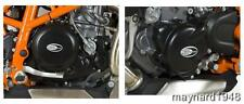 R&G ENGINE CASE COVER KIT (2 Covers) for KTM 690 SMC, 2008 to 2011