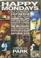HAPPY MONDAYS - CITIES IN THE PARK DVD - MANCHESTER'S MUSIC FESTIVAL
