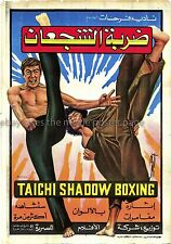 Tai Chi Shadow Boxing R1987 Jackie Chen Egyptian one-sheet film poster