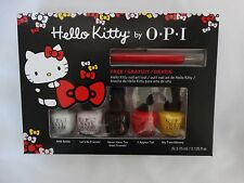 OPI  Hello Kitty Collection 2016  Mini Limited Edition Nail Lacquer Set