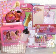 NEW BARBIE EASTER TOY GIFT BASKET lunch box school supplies PLAYSET GIFT