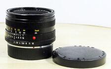 Leica summicron-R 2,0/50 mm 3cam como nuevo 1 año garantía!!!
