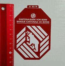 Aufkleber/Sticker: Kantonalbank von Bern (04051659)