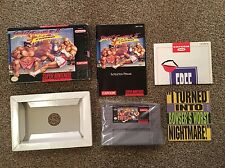 Street fighter 2 turbo - NTSC - Fully working - SNES Super Nintendo - Boxed