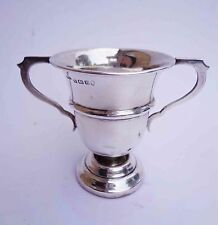 Solid Silver Double Handled Trophy CUP  by