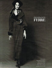 PUBLICITE ADVERTISING 035  1994  GIANFRANCO FERRE haute couture  BETTINA RHEIMS