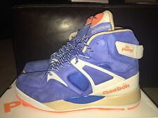 REEBOK X PACKER SHOES THE PUMP CERTIFIED 25TH ANNIVERSARY ROYAL STEEL M44388