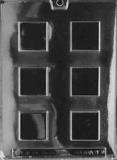 Mint Squares Chocolate Mold & Soap Molds - AO107